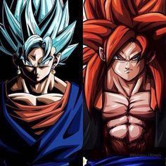 SSJB / SSJ4 Goku