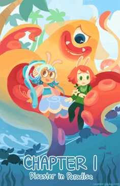 Cucumber Quest, one of my favorite webcomics! You should give it a read!