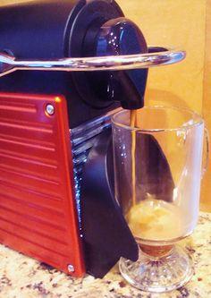Nespresso Pixie Espresso Maker.  A review.