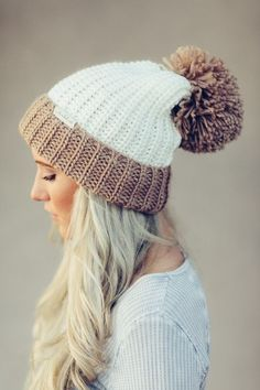 79cf904193f Knitting Patterns Beanie Super soft and cozy chunky knit beanie. Will keep  you looking cool