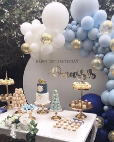 Sofia Tricia Zosa's media content and analytics Ballon iDeen 🎈 Boy Baby Shower Themes, Baby Shower Balloons, Baby Boy Shower, Baptism Decorations, Birthday Party Decorations, Baby Shower Decorations, Baby Boy Baptism, Baby Boy 1st Birthday, Shower Party