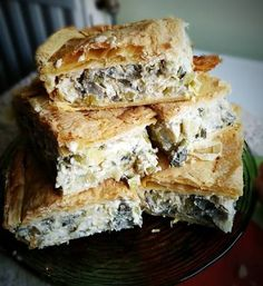 Cookbook Recipes, Cooking Recipes, Spanakopita, Soul Food, Starters, Sandwiches, Appetizers, Ethnic Recipes, Salt