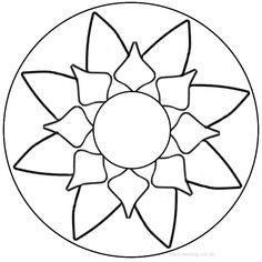 10 mandalas fáciles para descargar e imprimir si recién estás comenzando co Mandalas Painting, Mandalas Drawing, Mandala Art, Mosaic Patterns, Embroidery Patterns, Adult Coloring, Coloring Pages, Gadgets Électroniques, Design Tattoo