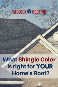 What color shingle is right for your roof? There's pressure to pick a color you like, as well as one that won't cause problems with your HOA or draw additional heat during the blazing summer months. #TeamTadlock has tips from the experts, plus a tool to help you visualize what a new roof would look like on your home.
