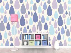 Wall: Raindrops