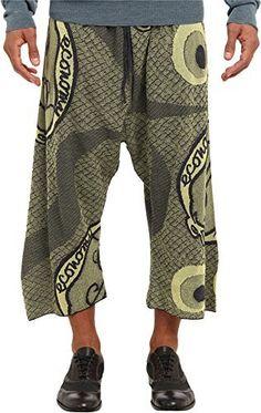 Vivienne Westwood MAN Men's RUNWAY Gold Label Pilgrim Economy Pant Yellow Pants