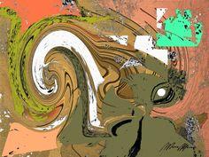 Artes Plásticas. Marco Machado. Gravuras Digital Abstratas.