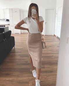 outfits chic falda ropa stylish summer ootd casual hotelsmod guardado desde eslamoda articulo skirts which
