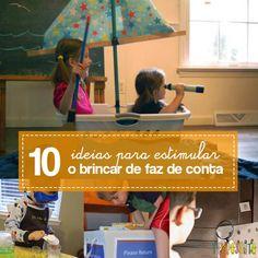 10 ideias para estimular a brincadeira de faz de conta Kids Seating, Happy Kids, My Baby Girl, Professor, Montessori, Cool Kids, Activities For Kids, Childhood, Parenting