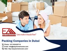 Packing Companies, Companies In Dubai, Packers, Good Things, Let It Be