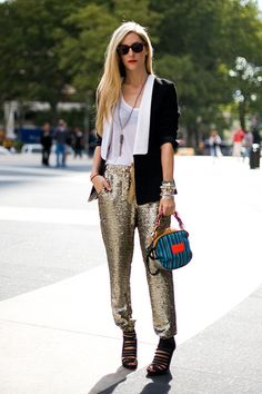 need these gold pants..i think they are isabel marant?