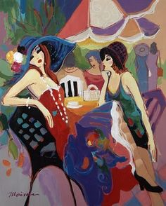 Not sure which artist this is, people before me wrote : Isaac Maimon  this IS TARKAY !!!!! NOT MAIMON!!! DUH