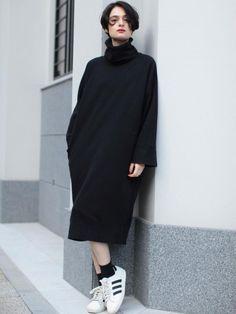 i-SOOK|アイスーファッション通販|ランウェイチャンネルタートルスウェットワンピースの詳細情報| RUNWAY channel(ランウェイチャンネル)(251440300200)