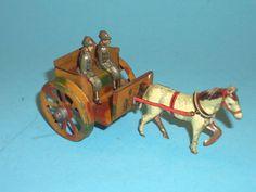 Altes Fischer Penny Toy Militärgespann Blech | eBay