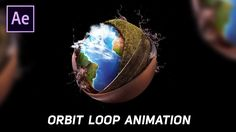 Orbit Loop Animation in After Effects - After Effects Tutorial Adobe After Effects Tutorials, Photoshop Effects, Photoshop Design, Adobe Photoshop, Adobe Premiere Pro, Animation Tutorial, After Effect Tutorial, Graphic Design Tutorials, Visual Effects