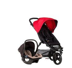 $$  Mountain Buggy 2015 Mini Compact Travel System, Berry by Mountain Buggy