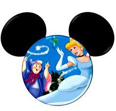 Imprimibles de Princesas Disney en silueta de Mickey. Disney Princess Tattoo, Disney Princess Cinderella, Tinkerbell Disney, Punk Princess, Disney Day, Disney Love, Disney Cruise, Disney Magic, Disney Mickey Ears