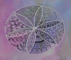 Zen Mandalas: Zentangle In The Round - Joggles.com