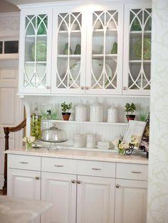 Unique Built In Glass Cabinet