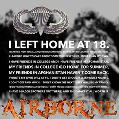 Military Quotes, Military Love, Military Guns, Military Veterans, Airborne Army, 82nd Airborne Division, Army Infantry, Army Quotes, Soldier Quotes