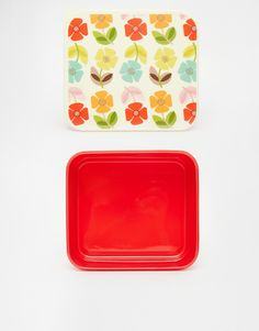 Mid Century Poppy Lunch