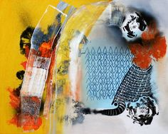 "Saatchi Art Artist Jessica Slater; Painting, ""Flint"" #art"