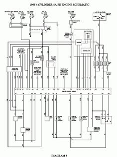 1992 Toyota Corolla Electrical Wiring Diagram and Wiring