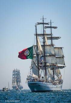 "NRP ""Sagres"", Three-Masted Barque, Portugal"