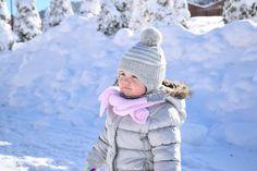 bebê inverno