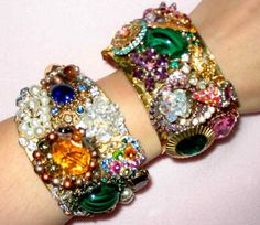 Beautiful Cuffs-Vintage One of a Kind
