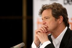 Colin Firth - to rest his chin in his hands