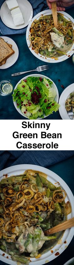 Skinny Green Bean Casserole has the most amazing taste you can expect ...