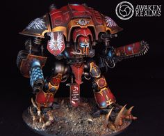 Blood Angel Imperial Knight