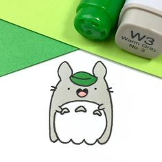 Totoro Ghost Doodle