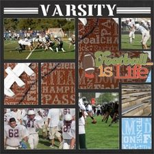 Sports Background Layout.... Like title and sport paper