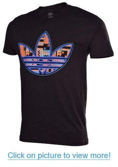 Adidas Originals Men's Tribal Trefoil T-Shirt-Black