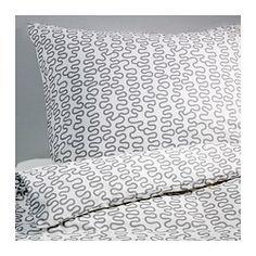 KRÅKRIS Bettwäscheset, 2-teilig - 150x200/50x60 cm - IKEA