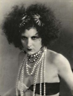 Evelyn Brent as Salome, photo by Otto Dyar