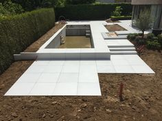 # Moderne villa # Swimming pool # Megategels Megasmooth 100x100