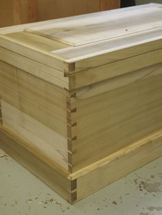 Poplar Tool Chest. All hand tool joinery. Hand Cut Dovetails. Tung Oil Finsh.  #woodworking #joinery #handtool #tool #chest #carpentry #traditional #dovetail #handcut