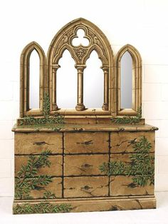 Superb A Monumental Gothic Style Carved Walnut And Polychrome Decorated Fireplace  | Pinterest | Gothic, Fireplace Mantel And Mantels