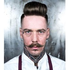 awesome 50 Exceptional Handlebar Mustache Styles - How to Grow & Care