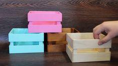 Декоративные ящики для цветов и подарков 2x4 Crafts, Quick Crafts, Cardboard Crafts, Crafts To Do, Diy Wood Box, Wood Boxes, Handmade Soap Recipes, Bouquet Box, Box Frame Art