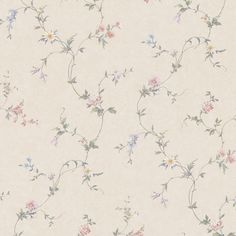 "Kitchen, Bed And Bath Resource IV Connie 33' x 20.5"" Floral Wallpaper"