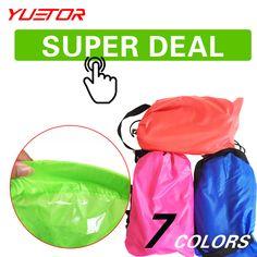 $31.11 (Buy here: https://alitems.com/g/1e8d114494ebda23ff8b16525dc3e8/?i=5&ulp=https%3A%2F%2Fwww.aliexpress.com%2Fitem%2FYUETOR-HOT-SELLING-Air-Lazy-Bag-Sofa-Fast-Inflatable-Sleeping-Bag-Hangout-Double-210T-Nylon-Camping%2F32661944617.html ) Brand YUETOR ultralight hangout lazy air bag lounger sleep camping for beach lay bag saco de dormir acampamento air sofa for just $31.11