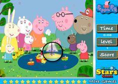 JuegosdePeppaPig.es - Juego: Estrellas Ocultas Peppa Pig - Jugar Online Gratis