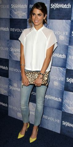 casual style : Nikki Reed