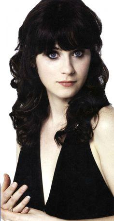 Zooey Deschanel :)   So pretty!