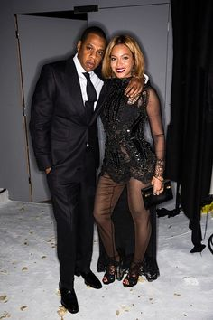 Beyoncé & Jay At Tom Ford Fashion Show In Los Angeles California 20.02.2015
