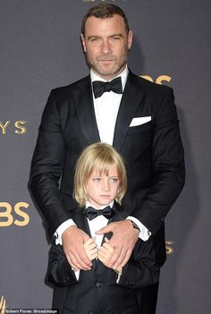 Proud dad Liev Schreiber takes son Kai as his date to the Emmys Korean Boys Hot, Korean Boys Ulzzang, Beautiful Boys, Beautiful Children, Bonnie Prince Charlie, Liev Schreiber, The Emmys, Cute Gay Couples, Best Portraits
